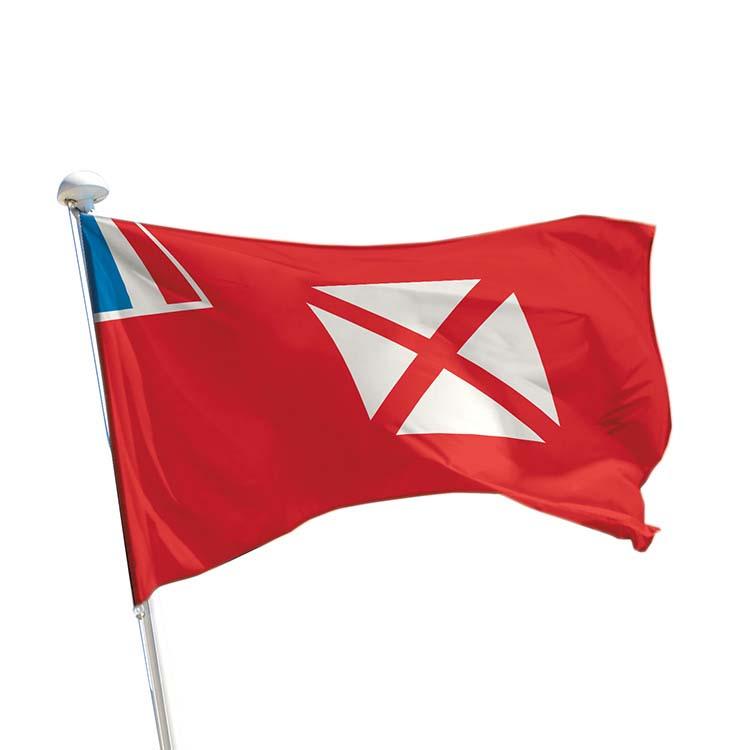 Drapeau province Wallis et Futuna pour mât