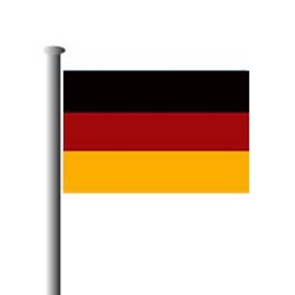 Deutschlandfahne quer