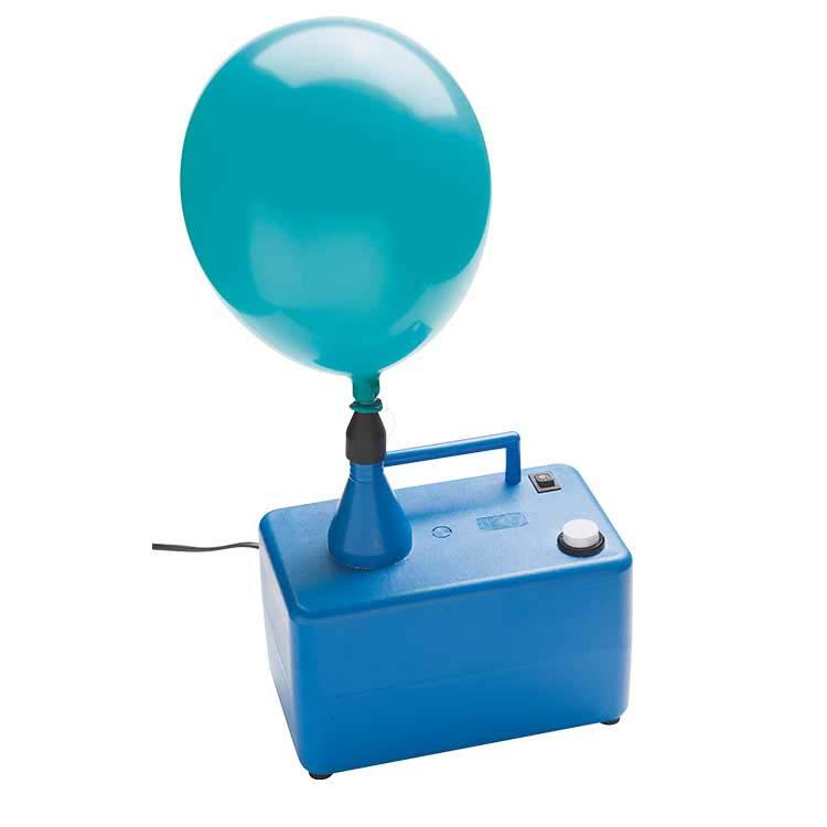 Pompe électrique pour gonfler des ballons de baudruche