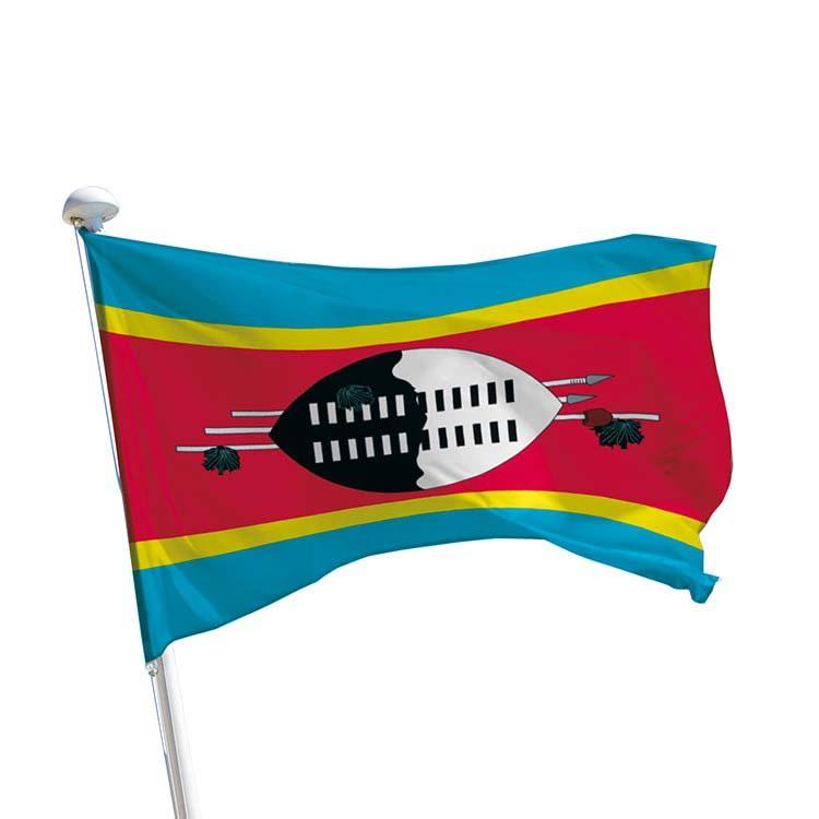 Drapeau Swaziland pour mât