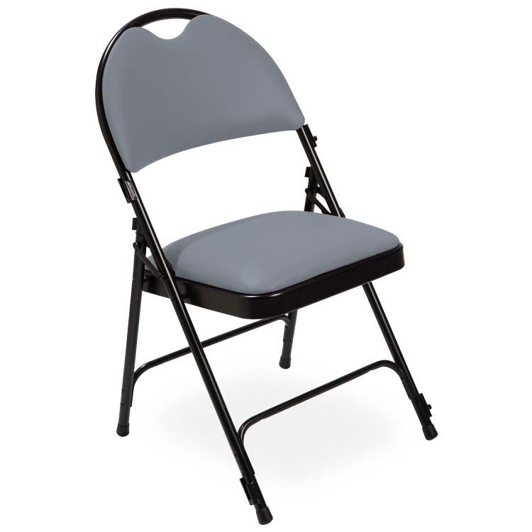 Chaise série 2600 vinyle gris M2