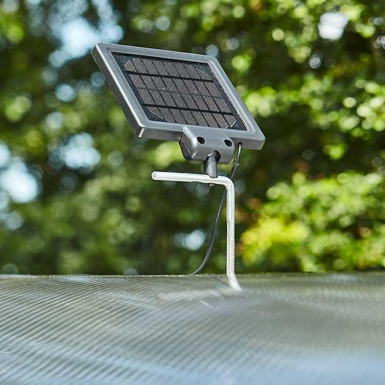 Abri deux-roues Stockholm dôme panneau solaire