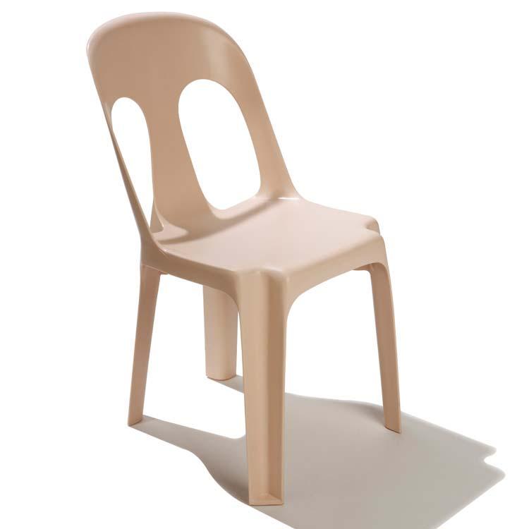 Chaise monobloc Sirtaki beige