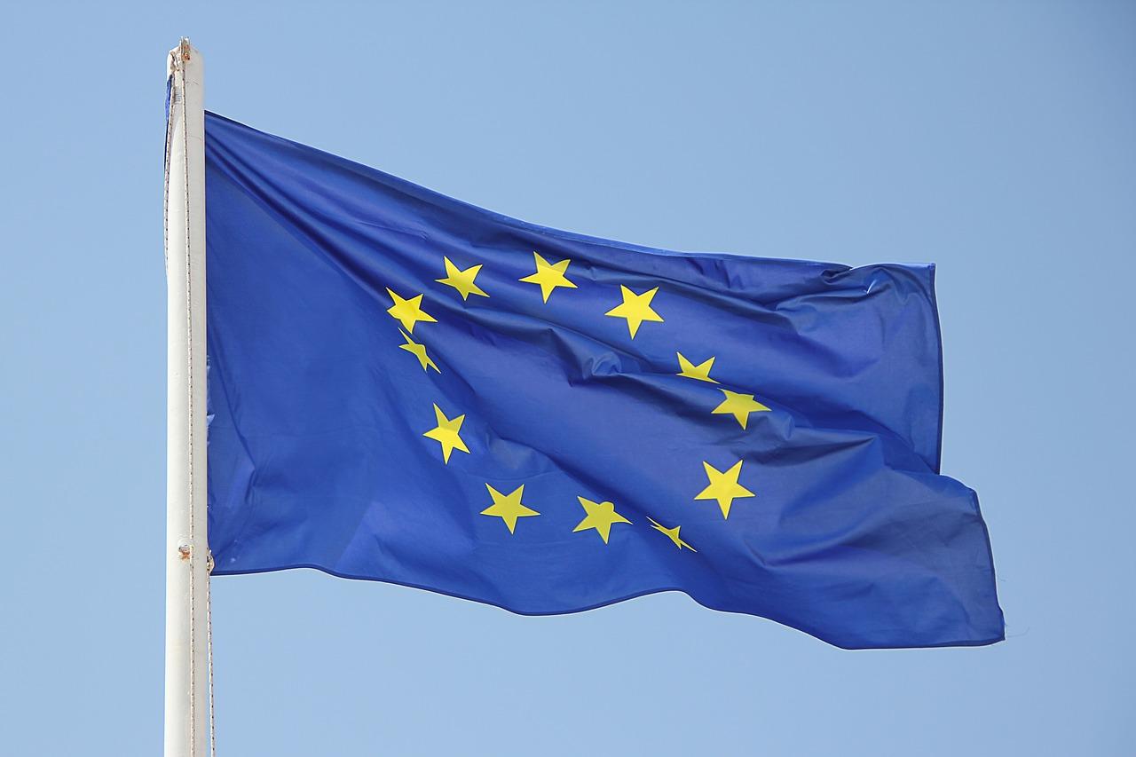 Hissfahne Europa quer