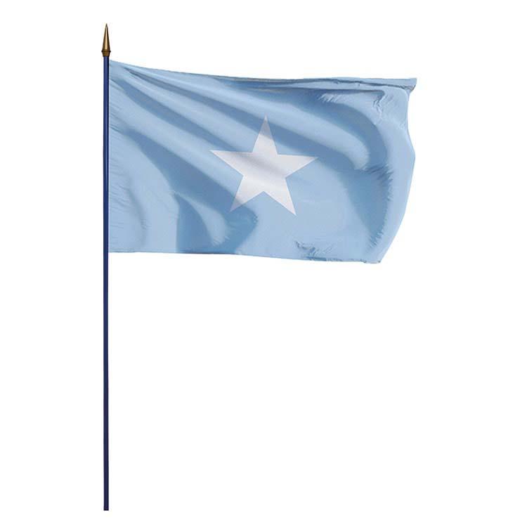 Drapeau Somalie sur hampe