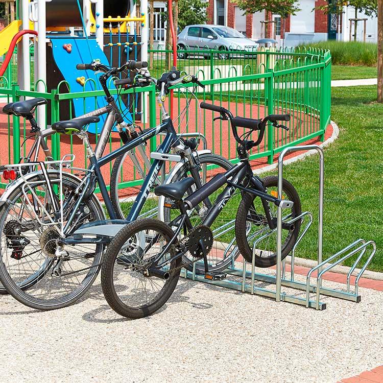 Rack à vélo Sydney 5 cycles arceau et cycle