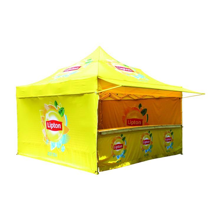 Tente pliante stand Comptoir Lipton Ice Tea
