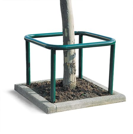 Protège-arbre carré