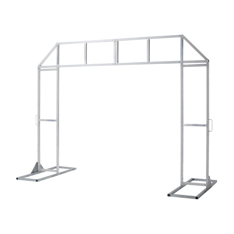 Structure Arche Entry en acier et aluminium