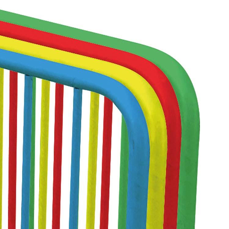 Barrière Sécuristar de différentes couleurs