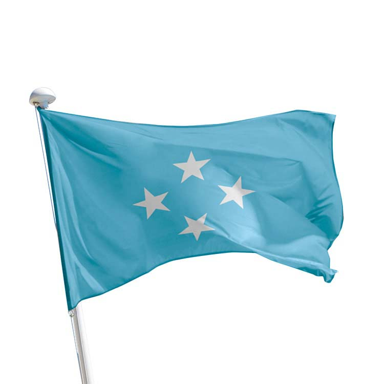 Drapeau Micronésie pour mât