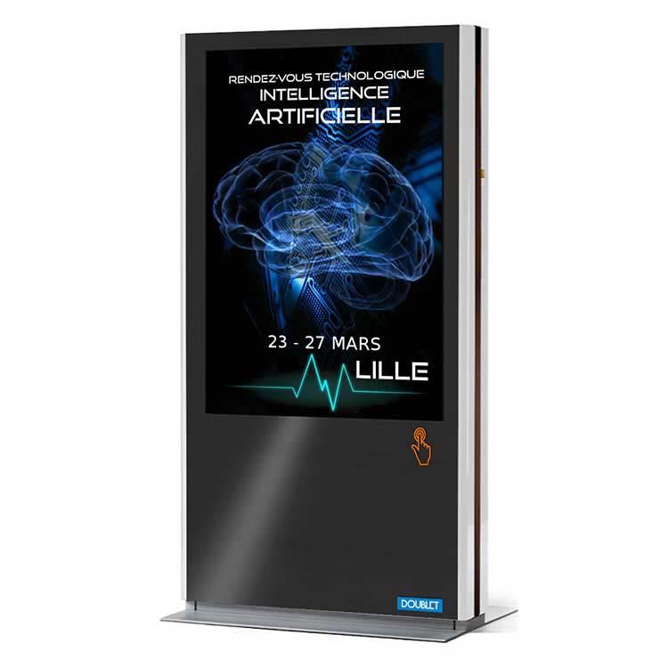 Totem tactile ET - Affichage dynamique