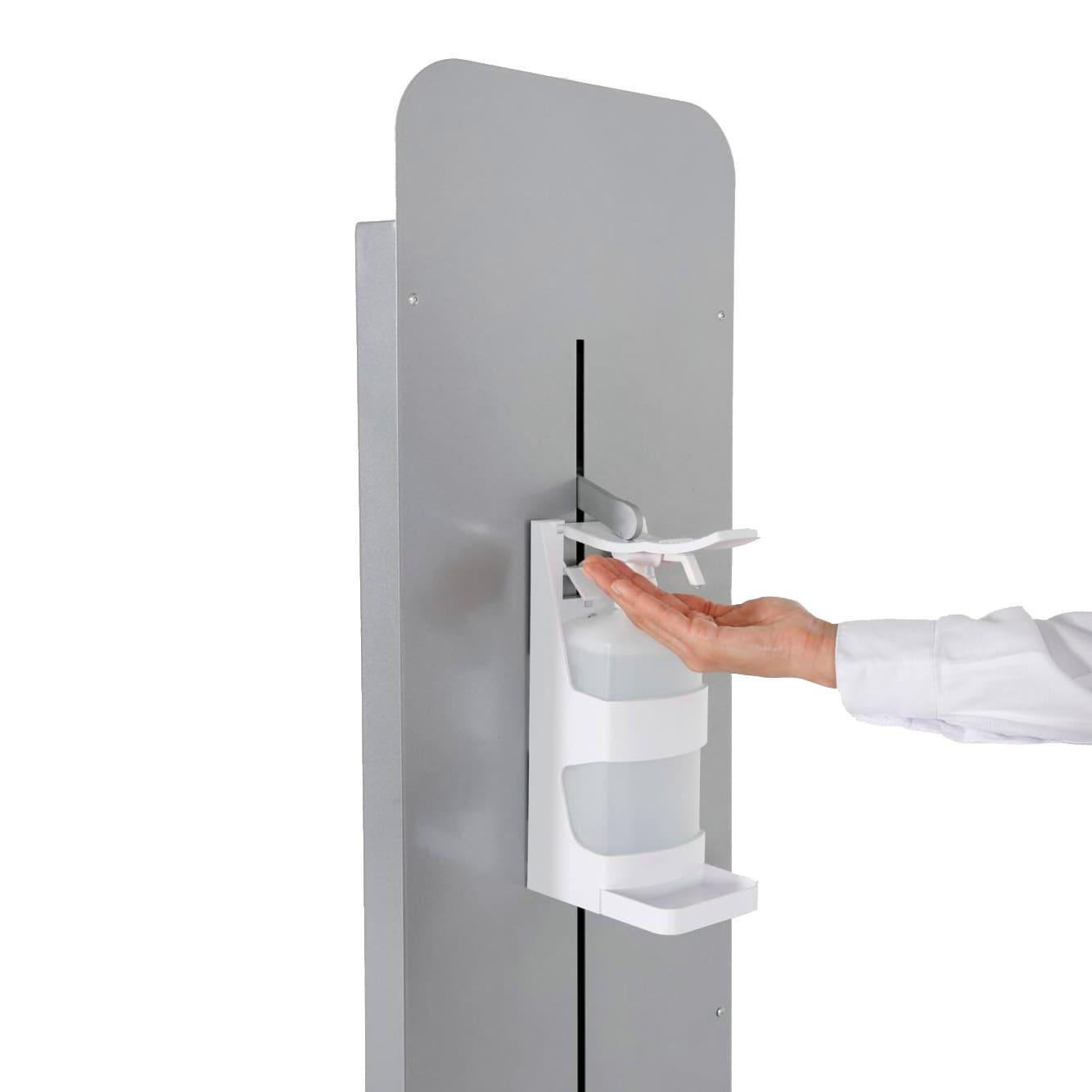 Distributeur rechargeable borne ajustable