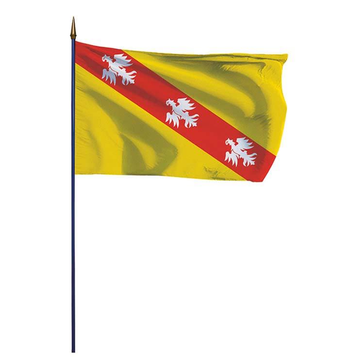 Drapeau de la province de Lorraine