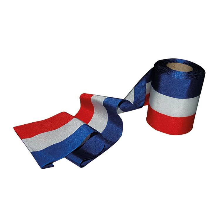 Bobine ruban d'inauguration tricolore français