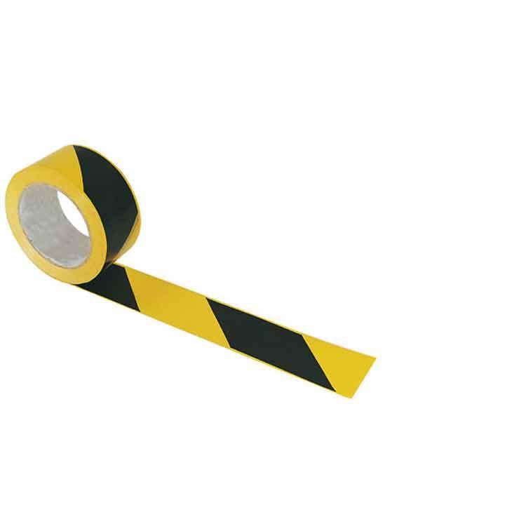 Ruban de balisage jaune et noir