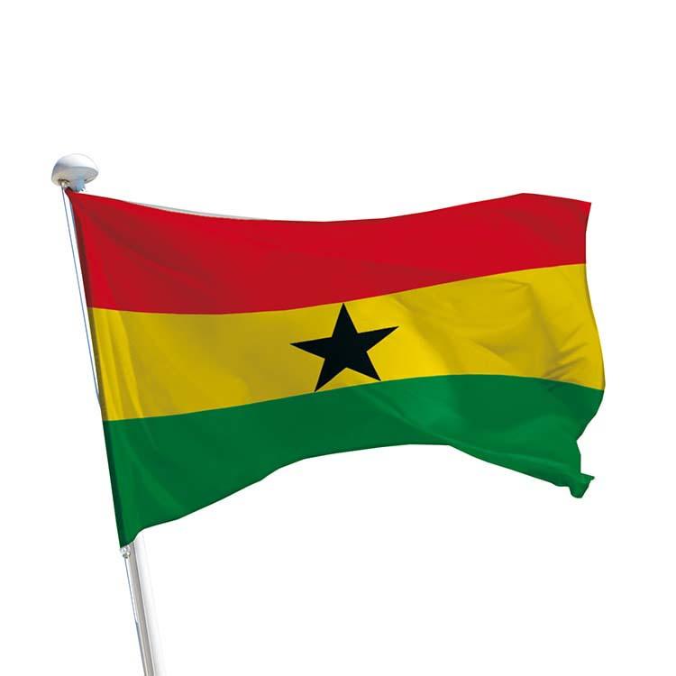 Drapeau Ghana pour mât