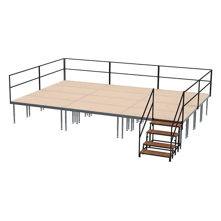 podium intérieur télescopique
