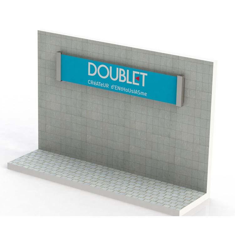 Support Rollerban de façade