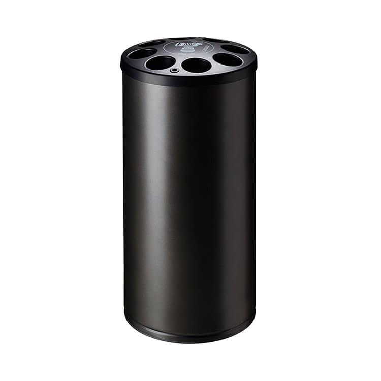 Collecteur de gobelets plastique gris manganèse - 1600 gobelets