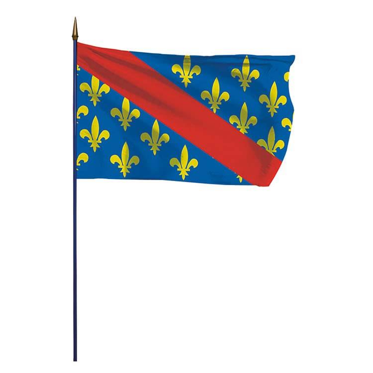 Drapeau de la province du Bourbonnais