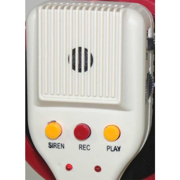 Mégaphone avec micro et sirène