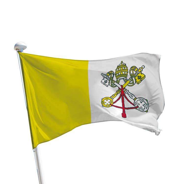 Drapeau Vatican pour mât