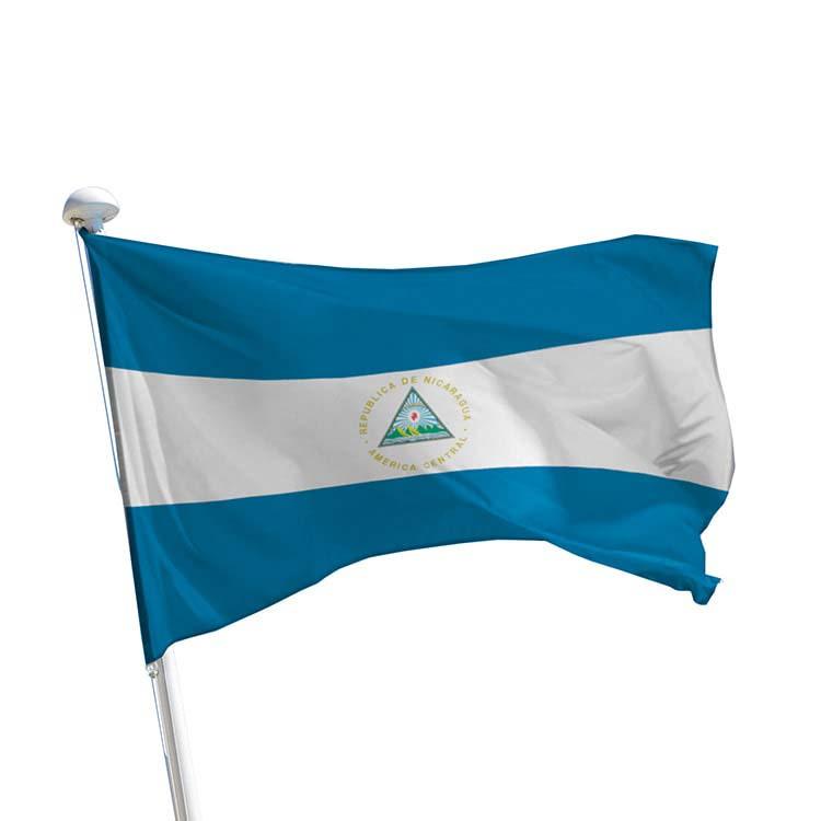 Drapeau Nicaragua pour mât