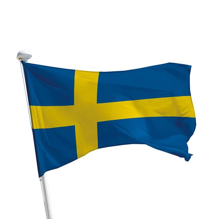 Drapeau Suède pour mât
