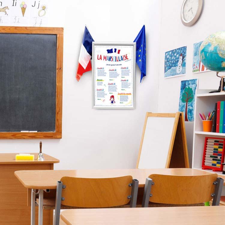 Cadre mural pour Ecole de la Confiance