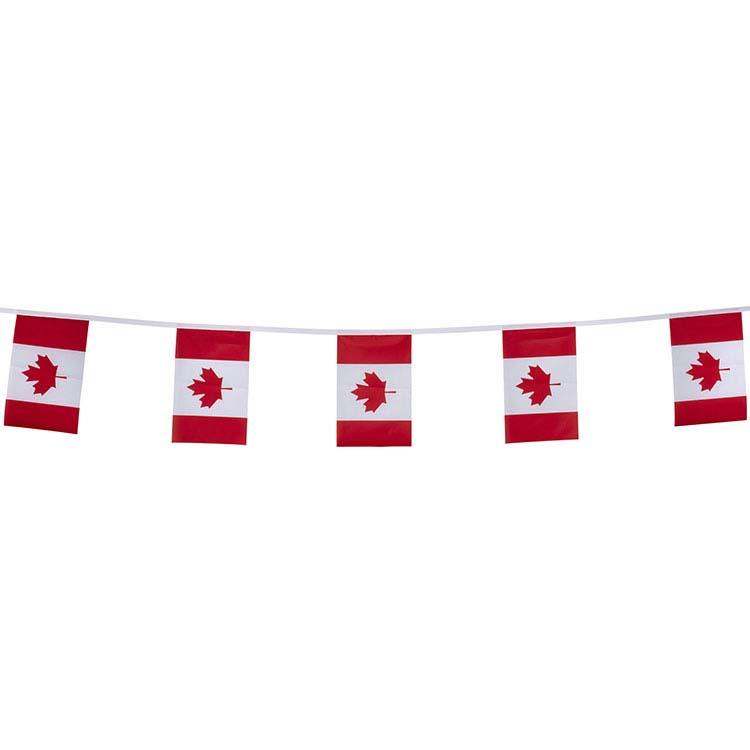 Guirlande tissu Canada