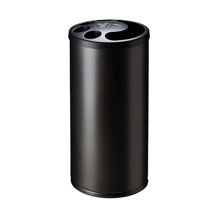 Collecteur de gobelets plastique gris manganèse - 800 gobelets + 25 L