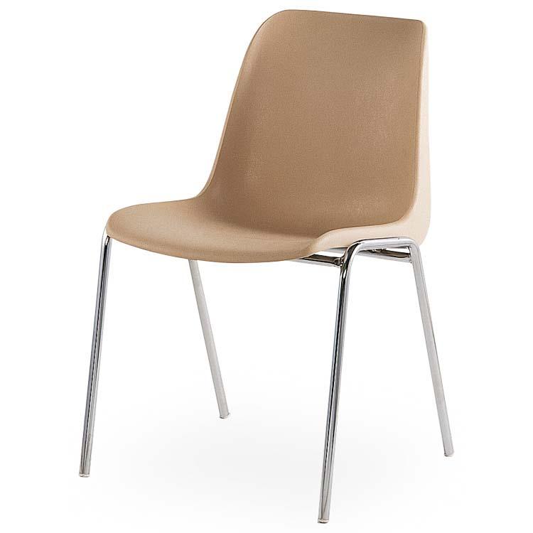 Chaise Coque M4 beige