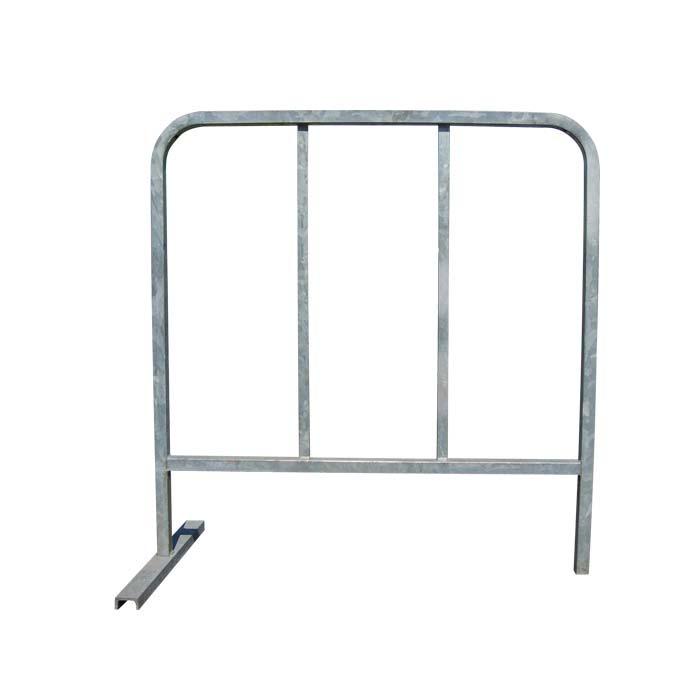Barrière de chantier 2 barreaux