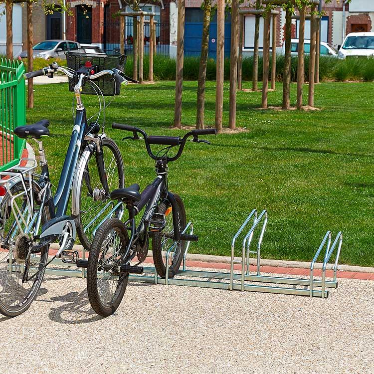 Rack à vélo Sydney 5 cycles avec 2 roues