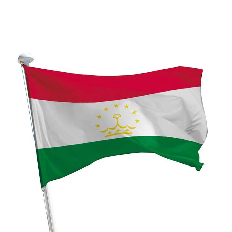 Drapeau Tadjikistan pour mât