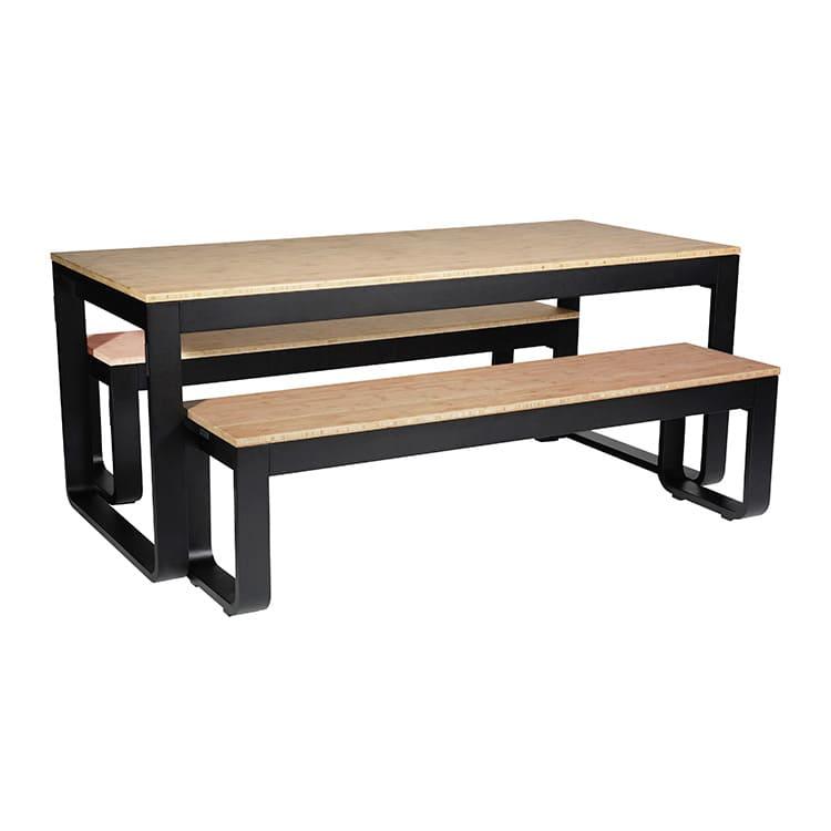 Set table de réception + bancs Flow