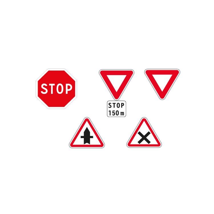 Panneaux de signalisation type AB