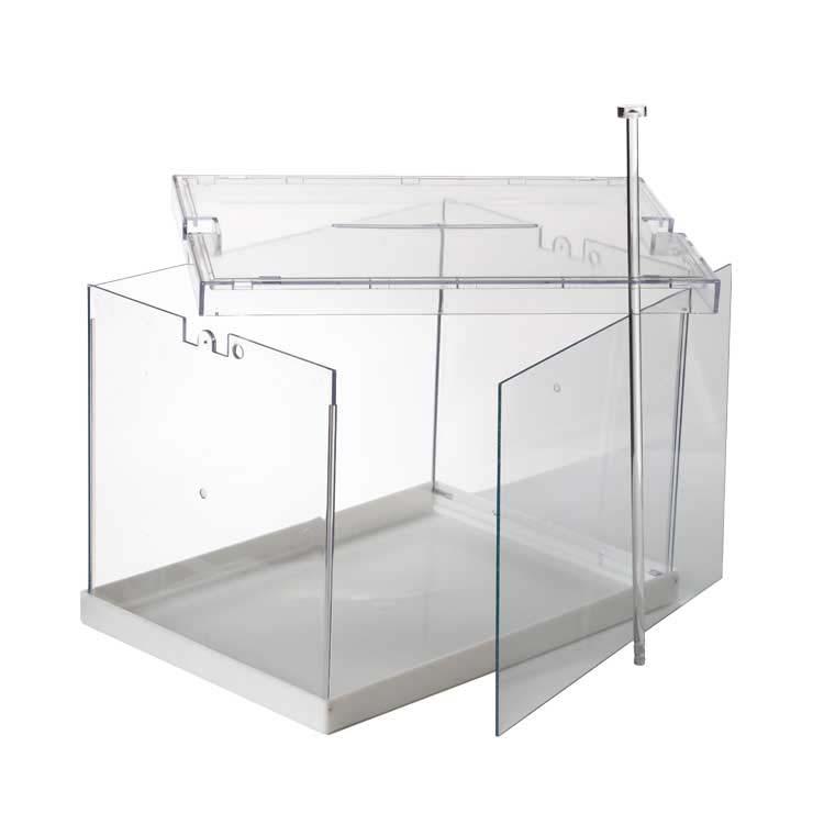 urne transparente pliante