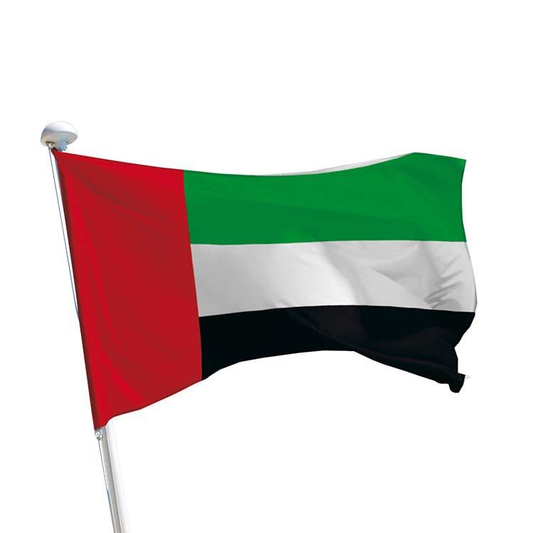 Drapeau Emirats Arabes Unis pour mât
