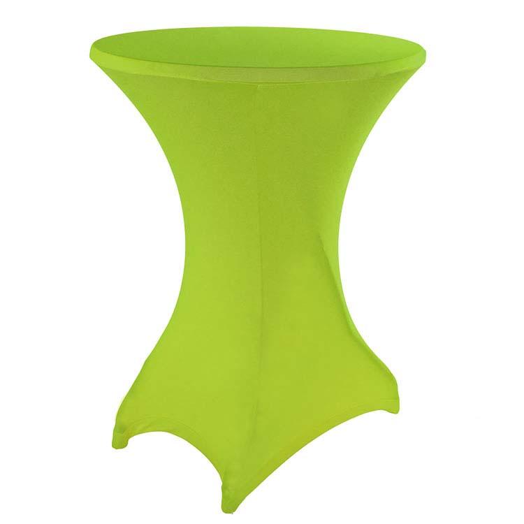 housse vert anis pour mange-debout