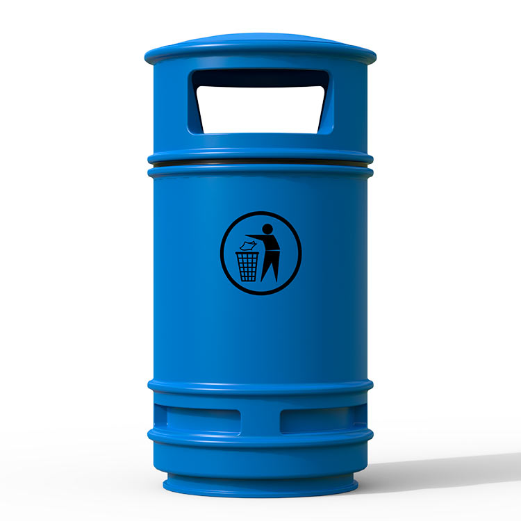 Corbeille Centauro Bleu - 90 litres