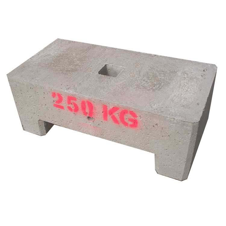 Lest béton 250 kg