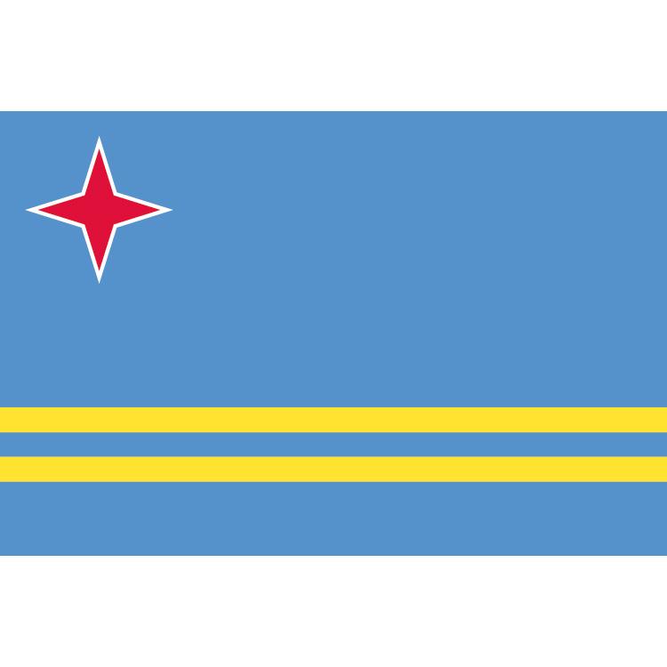 Drapeau Aruba