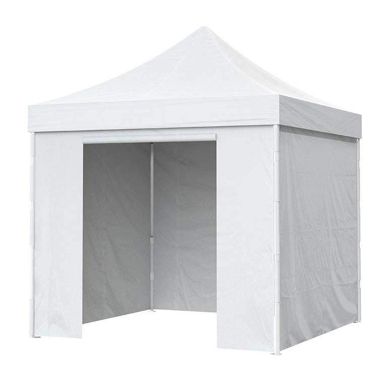 Tente pliante fermée avec toile Polyester