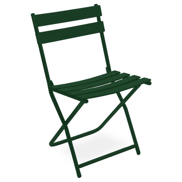Vente chaise pliante en m tal olympe pour jardin public - Chaise pliante solide ...