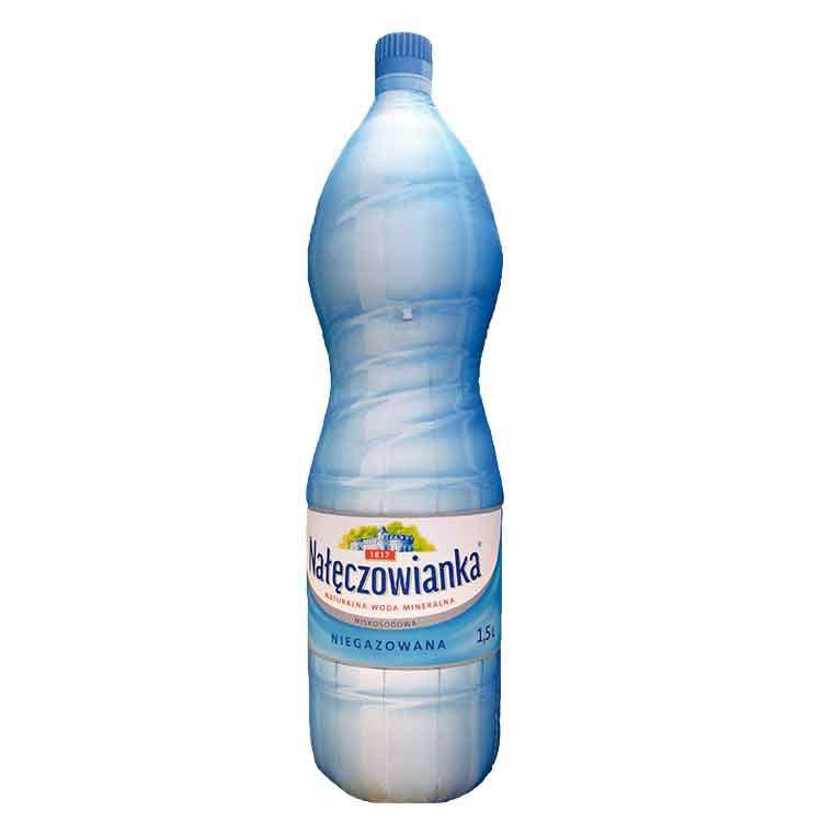 Structure gonflable bouteille d'eau