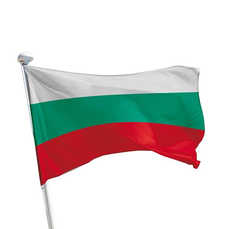 Drapeau Bulgarie pour mât