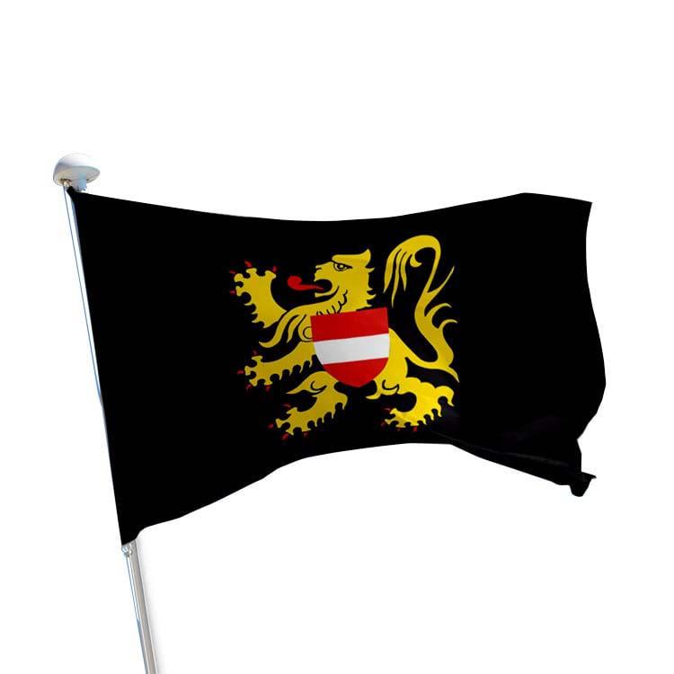 Drapeau Brabant-Flamand pour mât (BE)