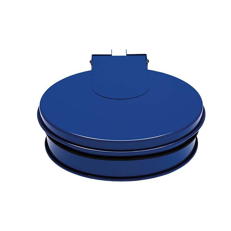 Support sac-poubelle Plain mural - bleu